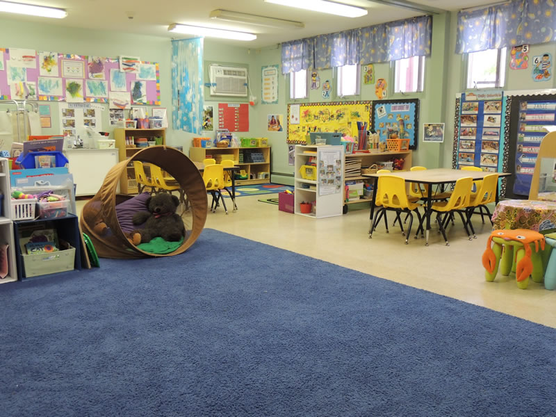 This is a view of the Cupcake Classroom.